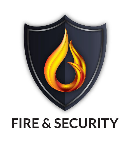 Fire & Security Logo design