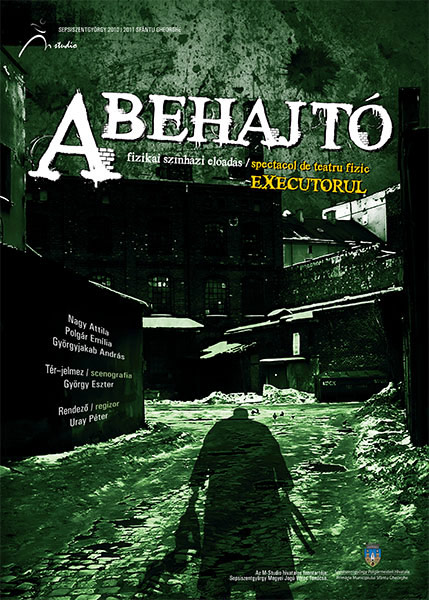 A behajtó poster graphic design